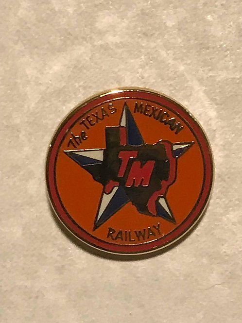 Texas Mexican Logo Pin