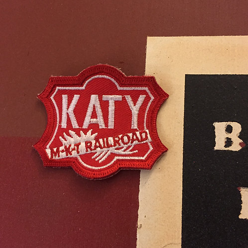 Katy MKT Railroad Patch