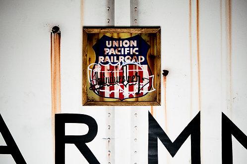 Hindue Union Pacific Plaque