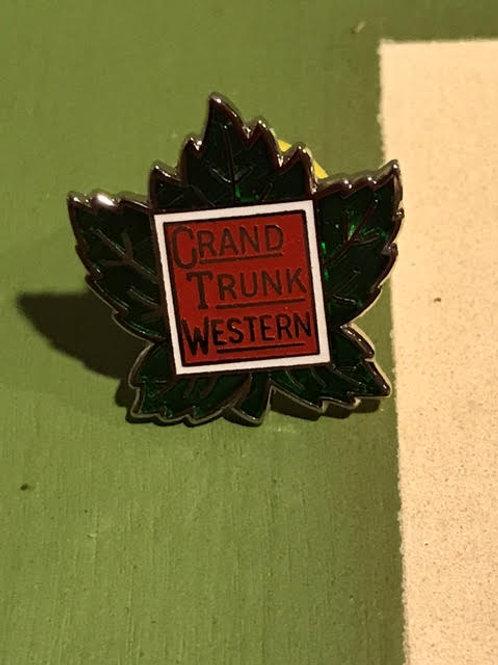 Grand Trunk Western Original Logo Pin