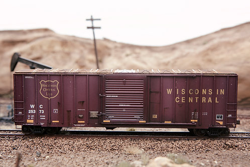 Wisconsin Central 50' Boxcar Ho Scale