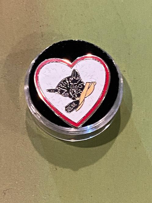Chessie Heart Pin