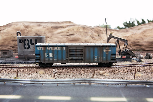 Erie Western 50' Boxcar Ho Scale