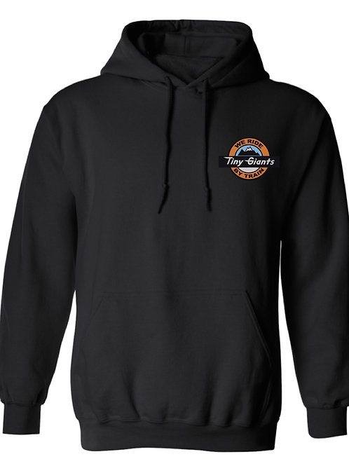 TG X WRBT Royal Gorge Route Hoddie -Black