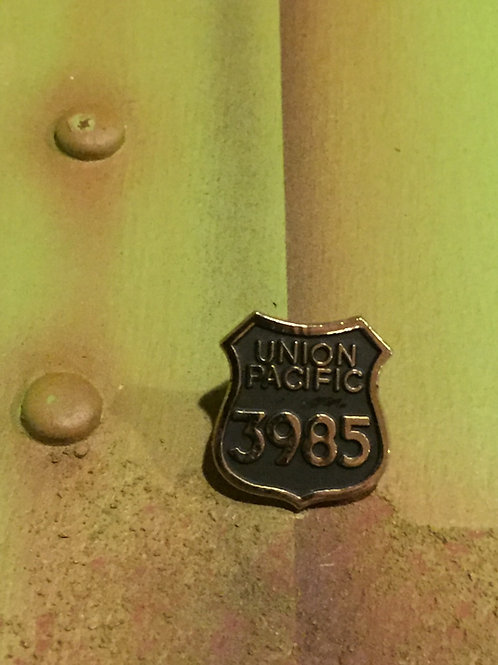 Union Pacific 3985 Original Logo Pin