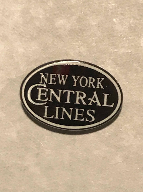 New York Central Lines Pin
