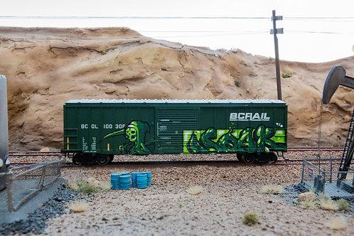 Soak BC Rail 50' Ho Scale
