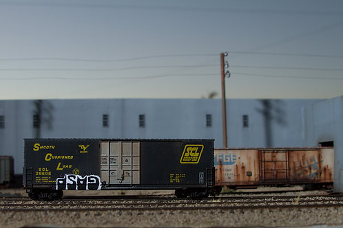 Gasp 50' HO Scale SCL Boxcar