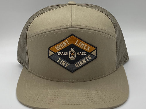 Tiny Giants/WRBT Snapback Hat -Khaki