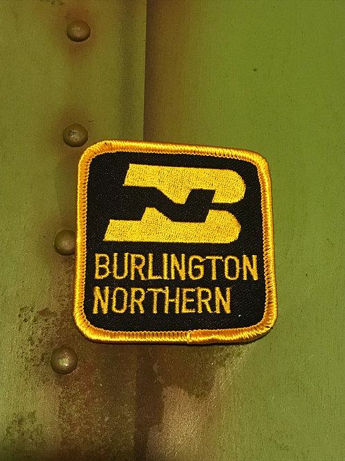 Burlington Northern Yellow/Black Patch