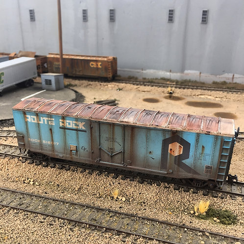Route Rock 50' Boxcar