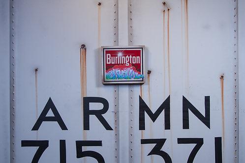 Chuck Burlington Sign