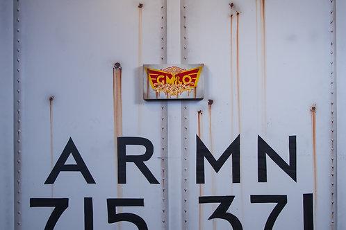 Xaust GM&O Sign