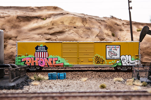 Phone UP 60' Boxcar Ho Scale