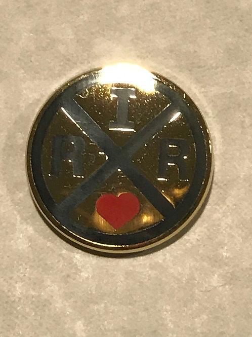 I Love RxR Pin