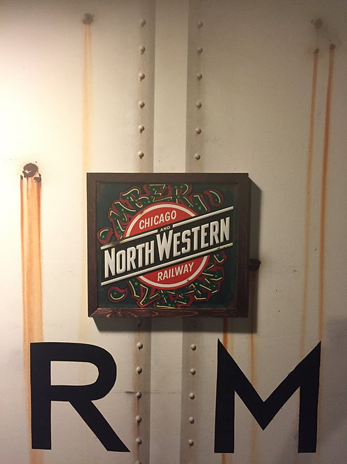 Mber North Western  Sign