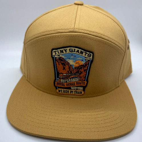 Tiny Giants/WRBT Rio Grande Strapback Hat -Caraway