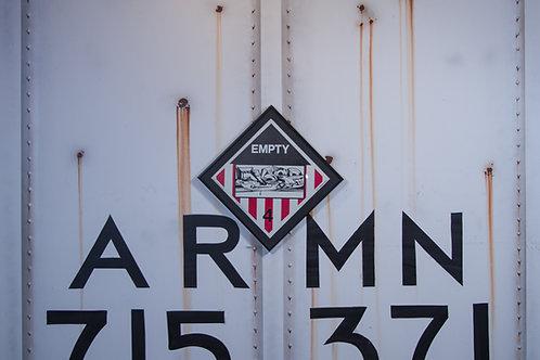 Eyesr Vintage Chessie Systems Hazard Warning sign