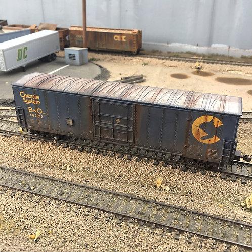 Chessie Systems B&O 50' Boxcar