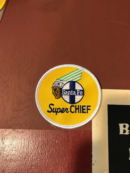Santa Fe Super Chief Patch