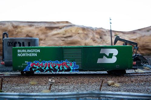 Erupto BN RR 60' Boxcar Ho Scale