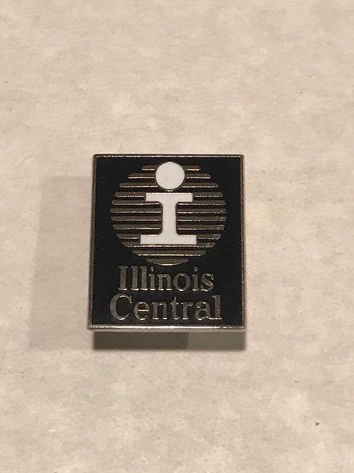 Illinois Central Logo Pin