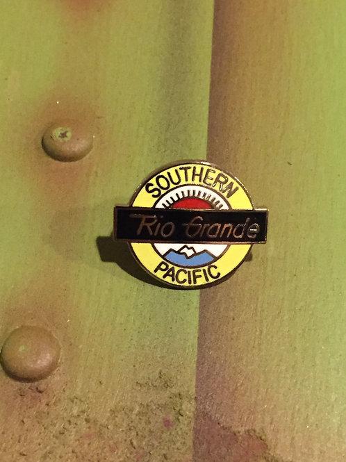 Southern Pacific Rio Grande Logo Pin