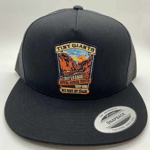 Tiny Giants/WRBT Rio Grande 5 Panel Meshback Snapback Hat