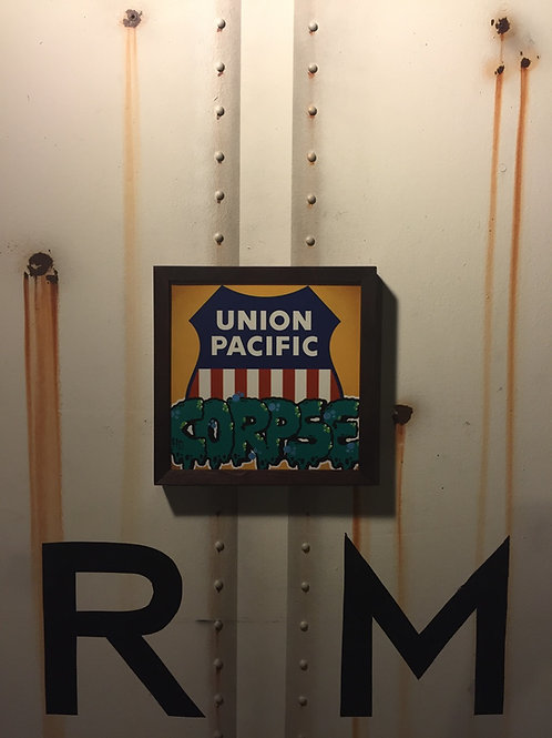 Corpse Union Pacific Sign