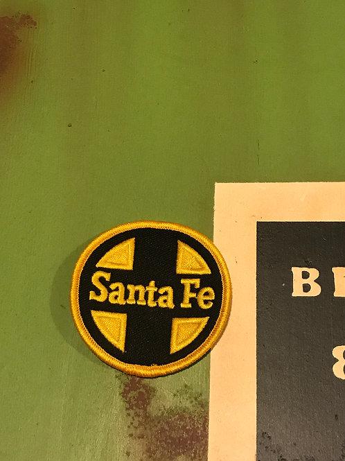 Santa Fe yellow/Black Logo Patch