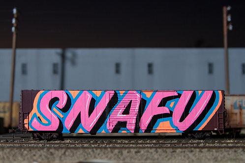 Snafu 60' Ho Scale BNSF