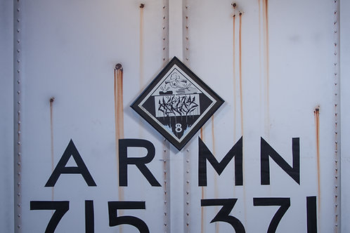 Mynas Vintage Chessie Systems Hazard Warning Sign