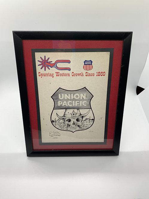 Soak Vintage Union Pacific Leaflet