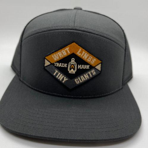 Tiny Giants/WRBT Snapback Hat -Charcoal/Black