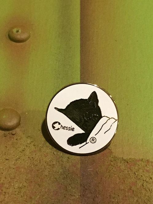 Chessie Cat Original Logo Pin