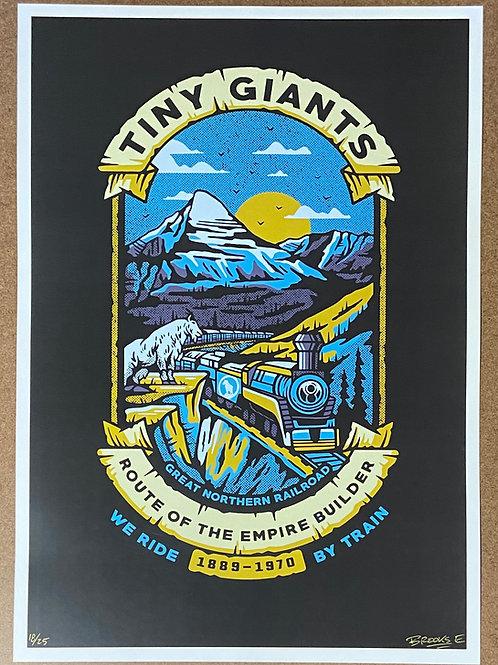 """TG X WRBT """"Vintage Routes"""" S/N Print -Empire Builder"""