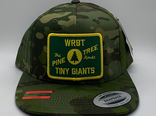 Tiny Giants/WRBT Maine Central 6 Panel Snapback Hat -Camo