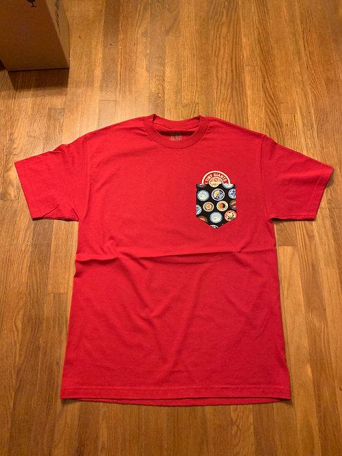 "Tiny Giants ""Pocket Peeper"" T-Shirt -Cardnial"