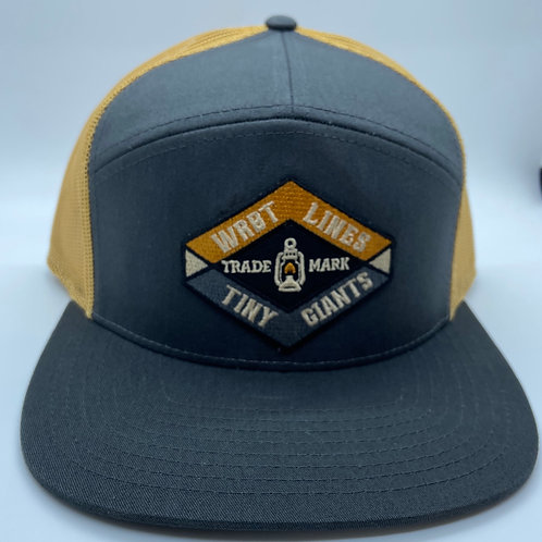 Tiny Giants/WRBT Snapback Hat -Charcoal/Caraway