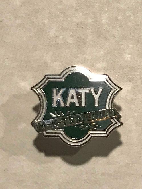 Katy Green Logo Pin