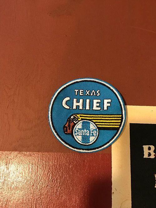 Santa Fe Texas Chief Patch