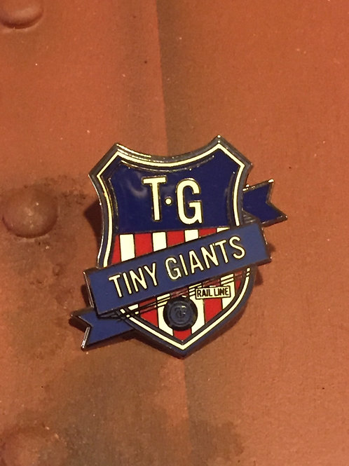 Tiny Giants Union Shield Pin