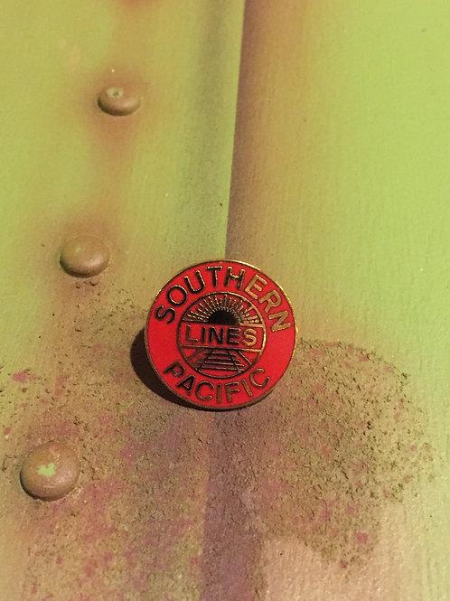 Southern Pacific Red Original Logo Pin