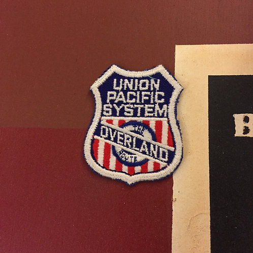 Union Pacific Overland Route Patch