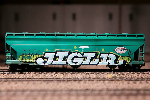 Jigl 56' Ho Scale NYCS Hopper
