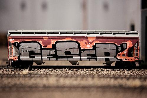 Geser Covered Hopper Ho Scale