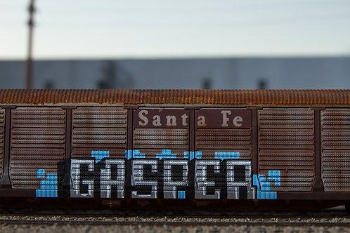 GASP HO Scale Santa Fe Auto Rack