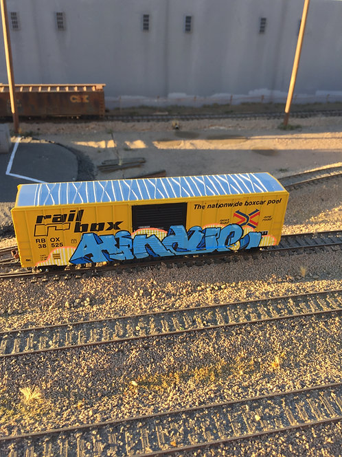 Hindue Rail Box HO Scale