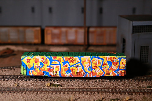 Reup BN 60' Boxcar HO Scale