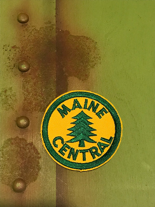 Maine Central Logo Patch